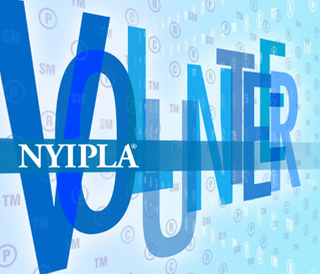 NYIPLA VOLUNTEER OPPORTUNITIES
