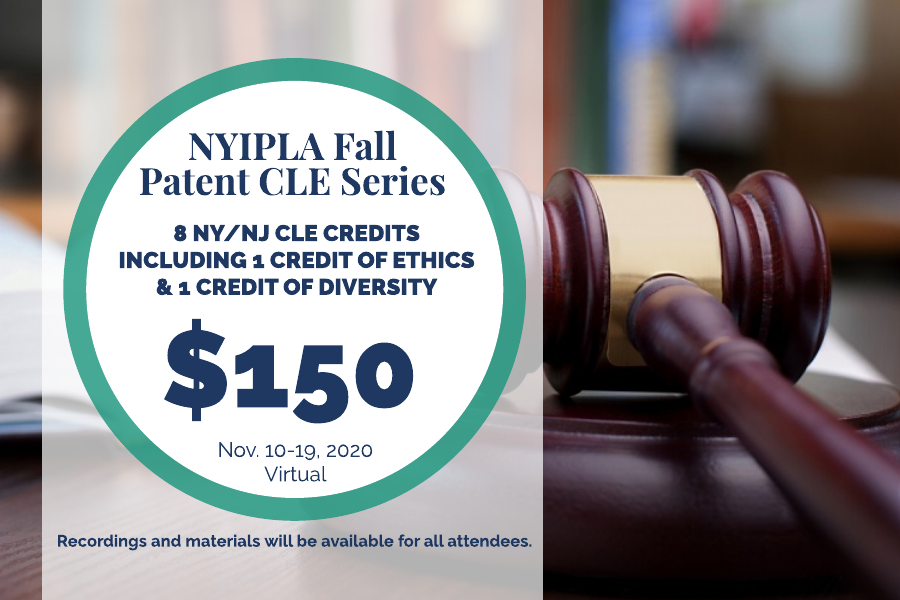 Fall Patent CLE Series